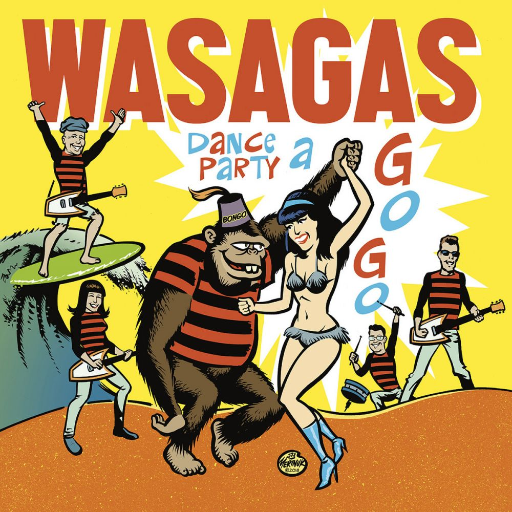 Mark Malibu & the Wasagas - Dance Party a Go-Go