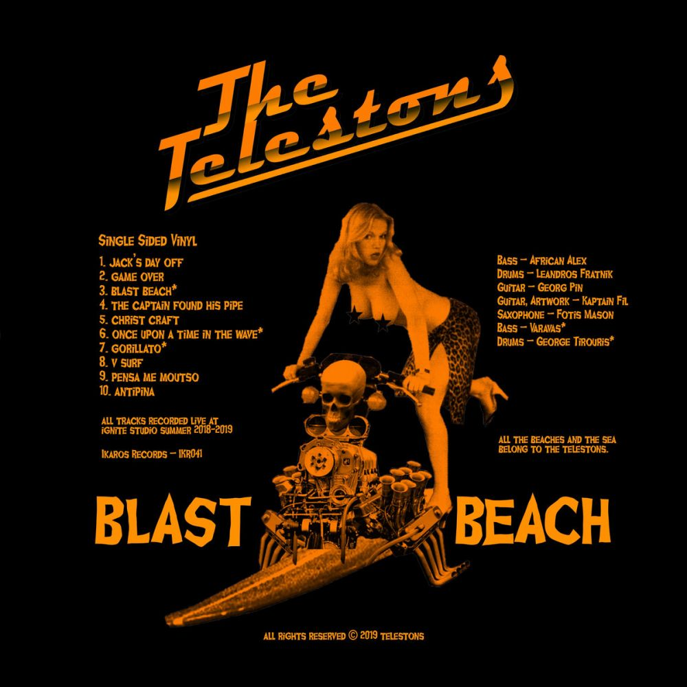 The Telestons - Blast Beach