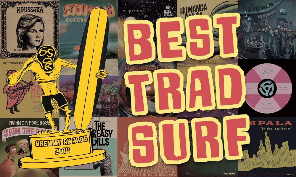 Gremmy Awards: Best Trad Surf Record 2018