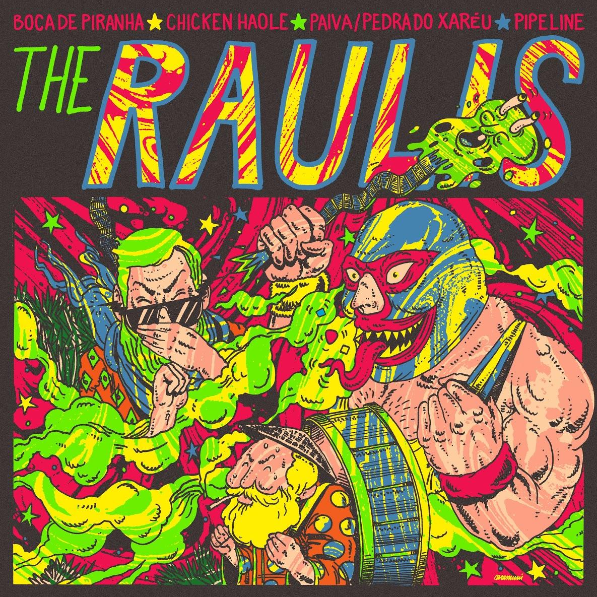 The Raulis - The Raulis EP
