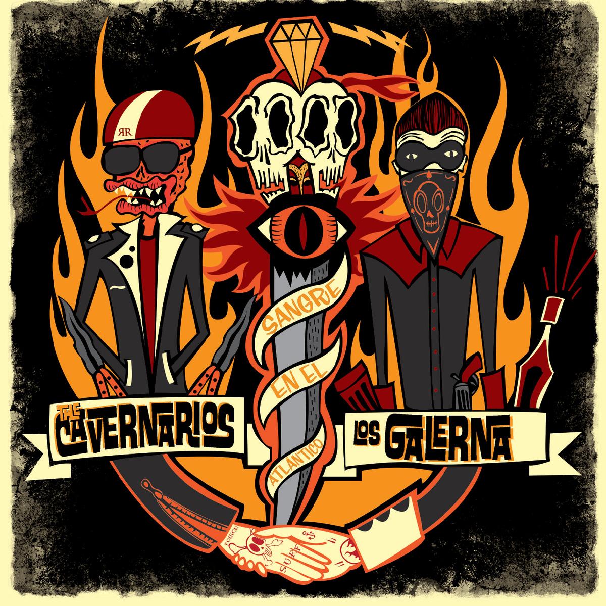 The Cavernarios and Los Galerna - Sangre en el Atlántico