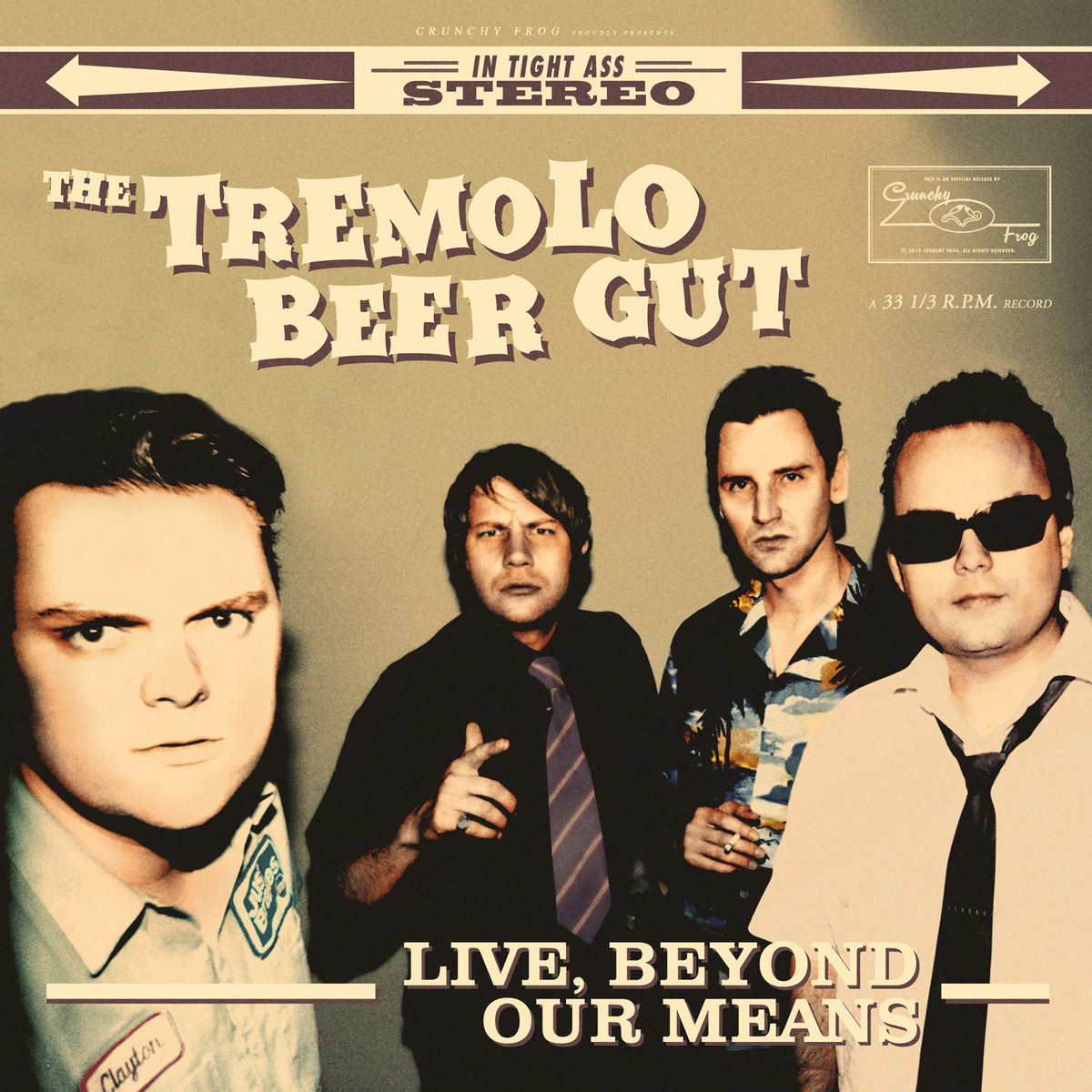 The Tremolo Beer Gut - Live, Beyond Our Means