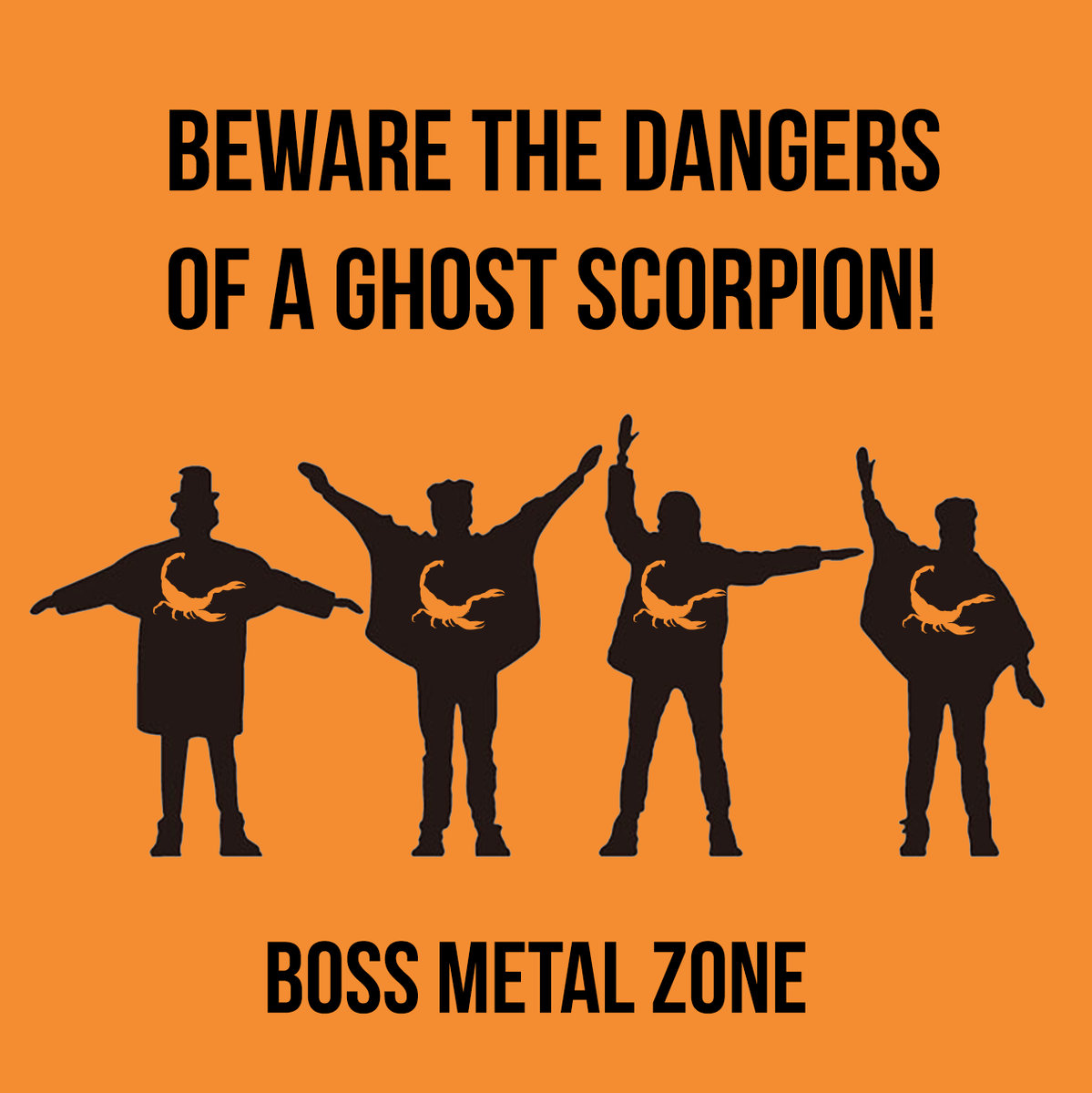 Beware the Dangers of a Ghost Scorpion! - Boss Metal Zone EP