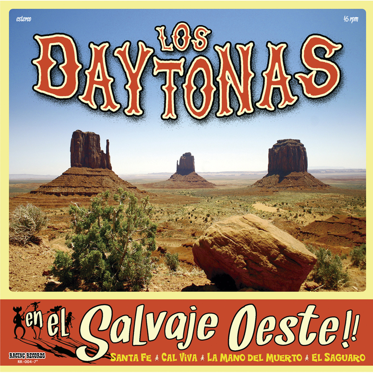 """Los Daytonas - En el Salvaje Oeste!! 7"""""""