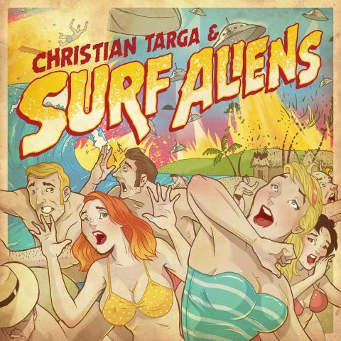 Christian Targa & Surf Aliens - Self-Titled EP
