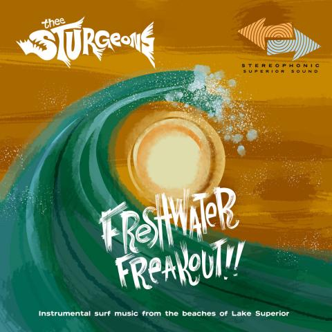 Thee Sturgeons - Freshwater Freakout EP