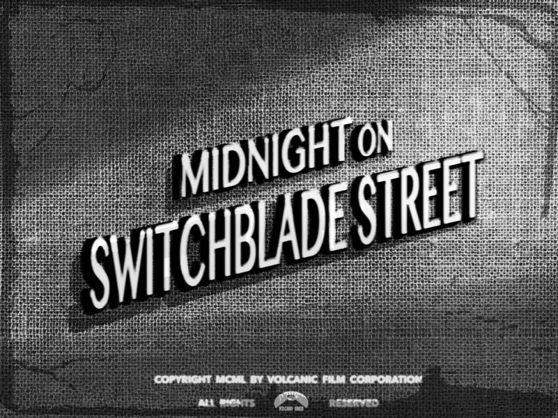 Volcano Kings - Midnight on Switchblade Street