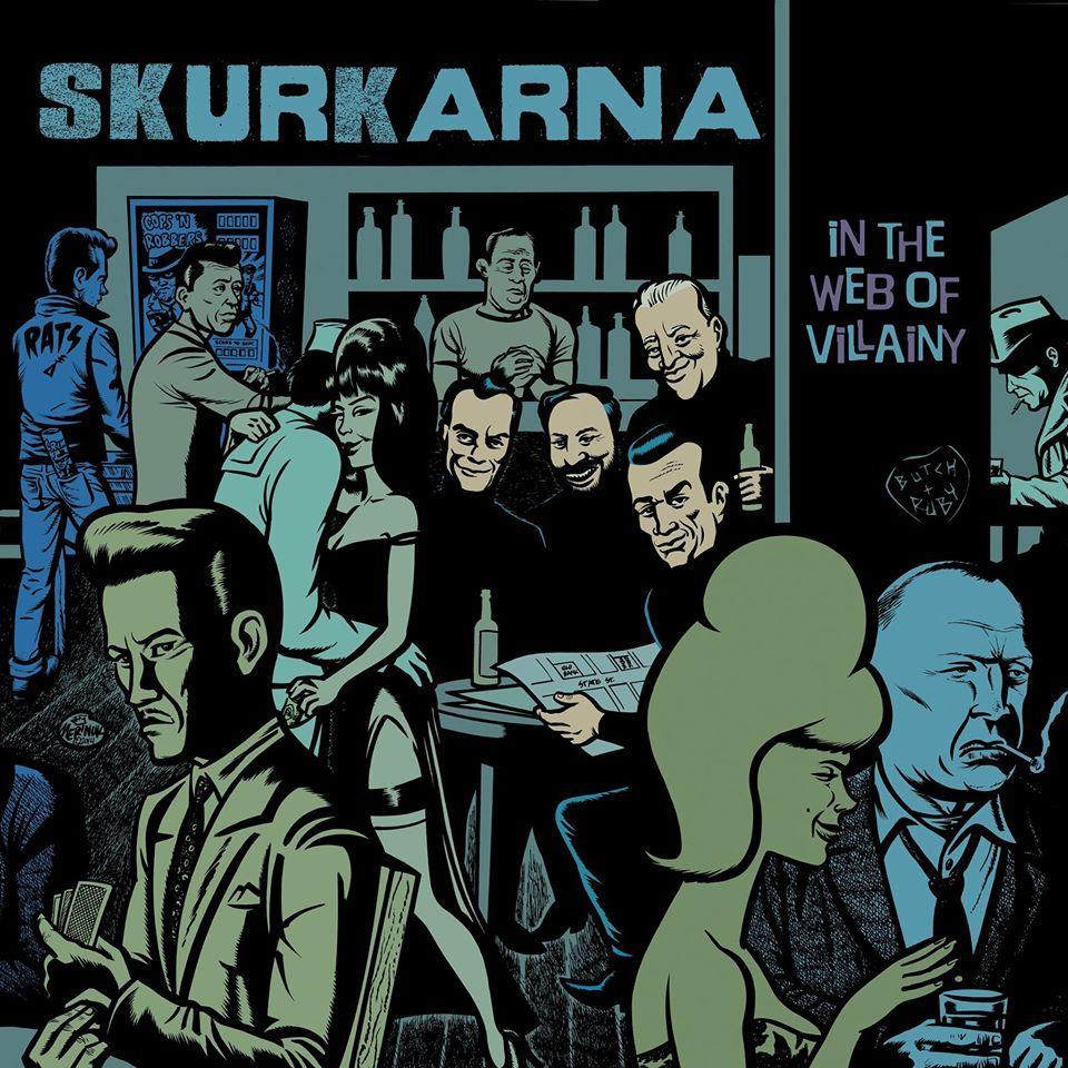 skurkarna - in the web of villainy