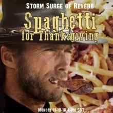 Spaghetti for Thanksgiving